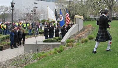 Building Trades honor the fallen at annual Workers Memorial